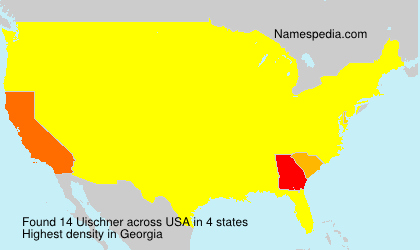 Surname Uischner in USA