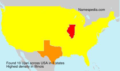 Surname Ujari in USA