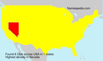 Familiennamen Uljar - USA
