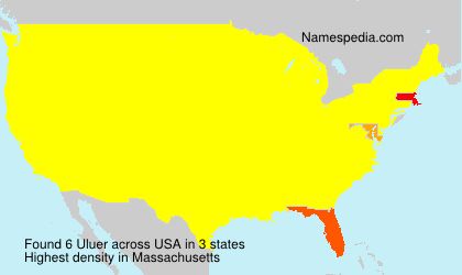 Surname Uluer in USA