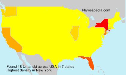 Umanski - USA