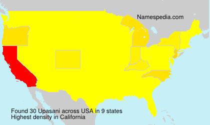 Surname Upasani in USA