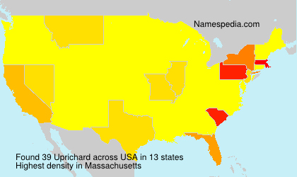 Surname Uprichard in USA