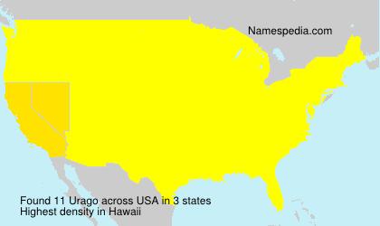Surname Urago in USA