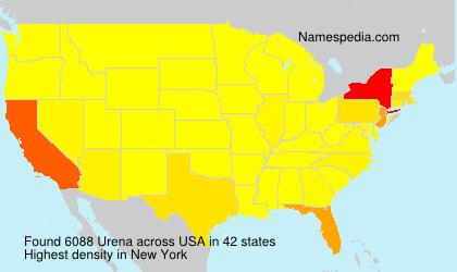 Surname Urena in USA