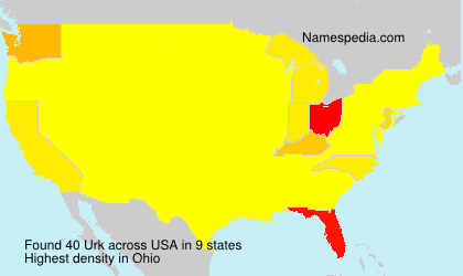 Surname Urk in USA