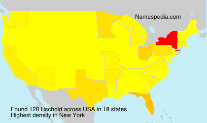 Surname Uschold in USA