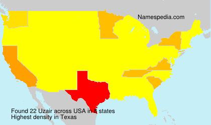 Surname Uzair in USA