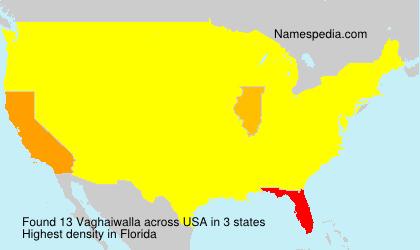 Vaghaiwalla - USA