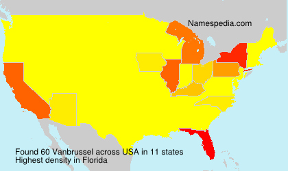 Surname Vanbrussel in USA