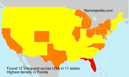 Familiennamen Vanguard - USA