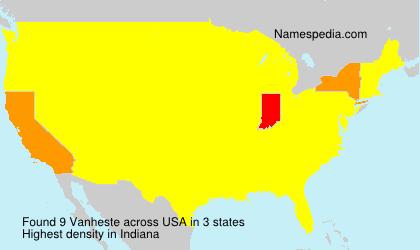 Vanheste - USA