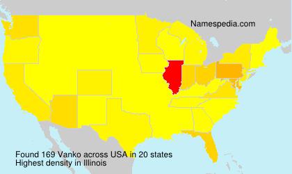 Surname Vanko in USA