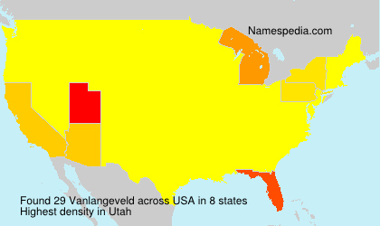 Surname Vanlangeveld in USA
