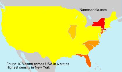 Familiennamen Vasata - USA