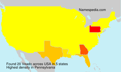 Surname Veado in USA