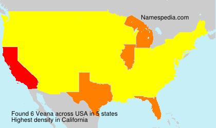 Surname Veana in USA