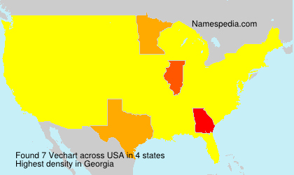 Surname Vechart in USA
