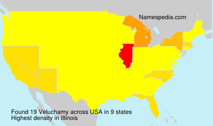 Surname Veluchamy in USA