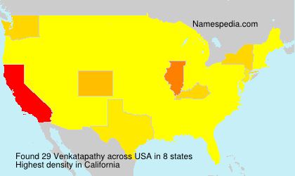Surname Venkatapathy in USA