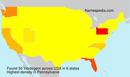 Verdegem - USA