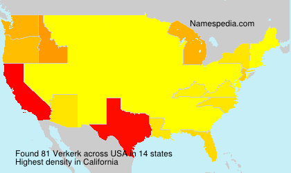 Verkerk - USA
