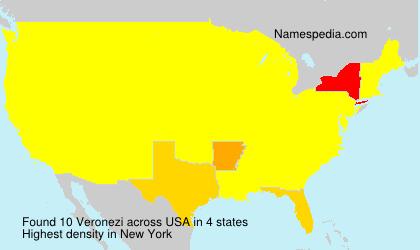 Surname Veronezi in USA