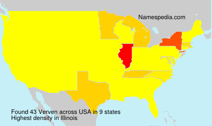 Surname Verven in USA
