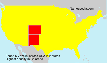Surname Vezelici in USA