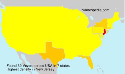 Surname Vezos in USA