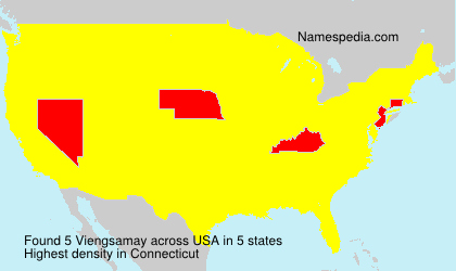 Surname Viengsamay in USA
