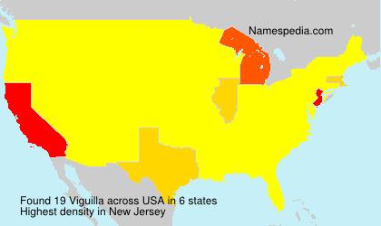Surname Viguilla in USA