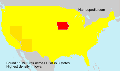Surname Vikturek in USA