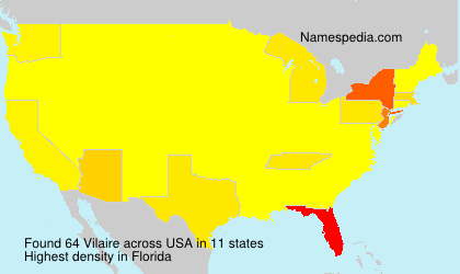 Surname Vilaire in USA