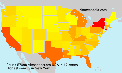 Surname Vincent in USA