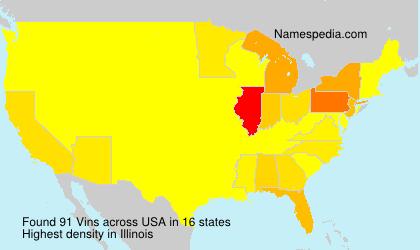 Vins - USA