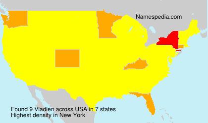 Surname Vladlen in USA