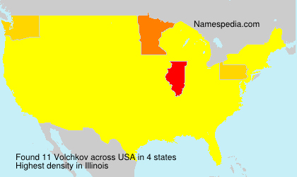 Familiennamen Volchkov - USA