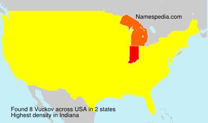 Surname Vuckov in USA