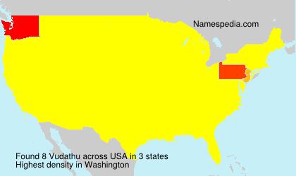 Surname Vudathu in USA