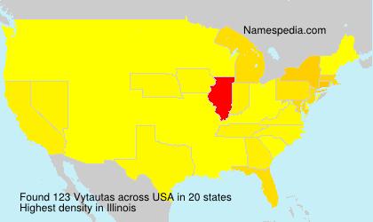 Surname Vytautas in USA
