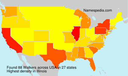 Surname Walkers in USA