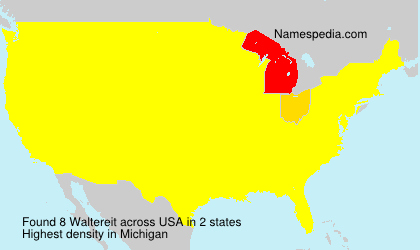 Surname Waltereit in USA