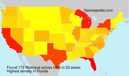 Familiennamen Waltraud - USA