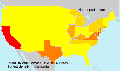 Surname Wasfi in USA
