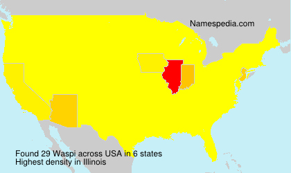 Surname Waspi in USA