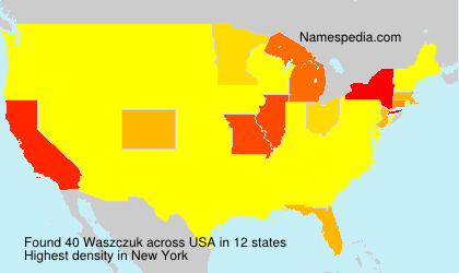 Surname Waszczuk in USA