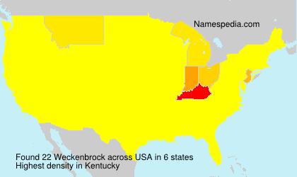 Weckenbrock - USA