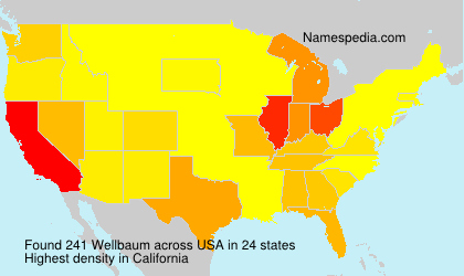 Surname Wellbaum in USA