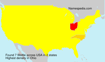 Surname Weltle in USA